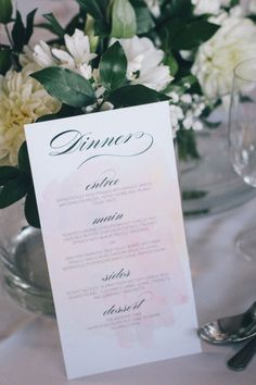 Event stationery: emkho a creative. Style Me Pretty | GALLERY & INSPIRATION | GALLERY: 12355 | PHOTO: 968243
