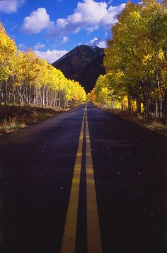Road to Aspen, Colorado.