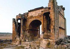 Haidra, Túnez. Arco de Septimio Severo.