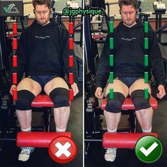 How to Leg extensions