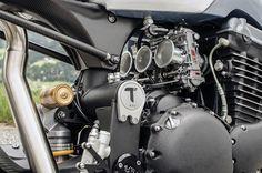 Palatina T15 Triumph Cafe Racer ~ Return of the Cafe Racers
