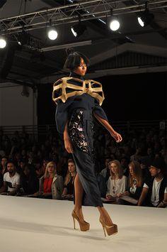 #Institutomarangoni Graduate Fashion Week London