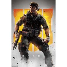 Trends International Call of Duty: Black Ops 4 - Crash Key Art Wall Poster, x Premium Unframed Rigor Mortis, Black Ops 4, Keys Art, Call Of Duty Black, Military Men, Star Citizen, Character Concept, Game Character, Just For You