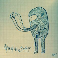 #illustration#character#creatures#diegolizan
