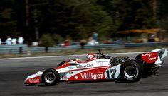 1978 FORMULA 1 SHADOW DN 9 Car CARD Clay Regazzoni