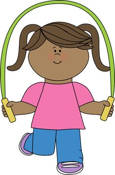 Girl With Jump Rope Clip Art Girl With Jump Rope Image Clip Art Jump Rope Kids Clipart