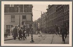 1942. Entrance into the Jewish Quarter of Amsterdam. #amsterdam #worldwar2