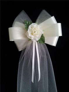 Pew Bow Ideas | Pew bow | DIY Wedding | Pinterest …
