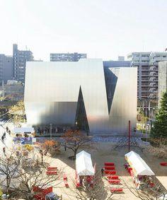 kazuyo sejima - sumida hokusai museum, tokyo