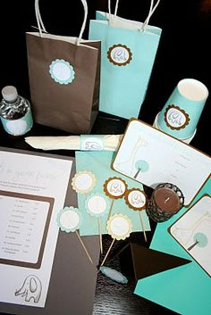 Baby shower free printables....