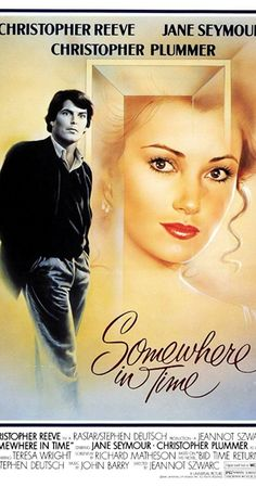 Directed by Jeannot Szwarc. With Christopher Reeve, Jane Seymour, Christopher Plummer, Teresa Wright. A Chicago playwright uses self-hypnosis to travel back in time and meet the actress whose vintage portrait hangs in a grand hotel.