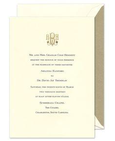 Fine Stationery Com Personalized Stationery Wedding