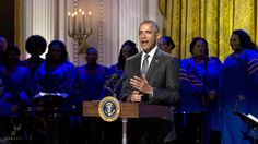 "White House Celebrates Gospel Music with ""In Performance at the White House"" Concert"