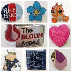 Looking for a supply to produce your we can help! We are never beaten on costs or quality Badges, Charity, Designers, Bloom, Make It Yourself, Badge