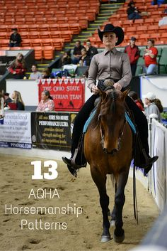Get ready for your next horse show with these 13 AQHA horsemanship patterns designed for every level of exhibitor.