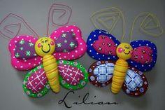 Mariposas de porcelana - Imagui