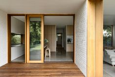 Brighton House by Rob Kennon Architects takes cues from the coast, fusing a traditional palette and creating spaces of controlled openness and retreat. Australian Architecture, Interior Architecture, Brick Interior, Interior Design, Brighton Houses, Note Design Studio, Melbourne Suburbs, Create Space, Architect Design