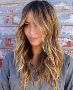 40 long hairstyles and hairstyles for fine hair Long Bronde Shag Hairstyle - Unique Long Hairstyles Ideas Easy Hairstyles For Kids, Haircuts For Thin Fine Hair, Messy Hairstyles, Long Choppy Hairstyles, Hairstyles Videos, Updo Hairstyle, Bride Hairstyles, Pretty Hairstyles, Long Fine Hair