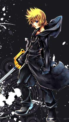 "The Organization's member XIII. Roxas. ""The Keyblade's chosen one."""