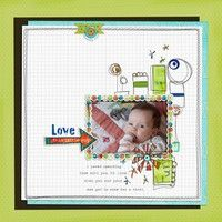 A Project by ~Karen~ from our Scrapbooking Gallery originally submitted 02/08/12 at 09:54 AM
