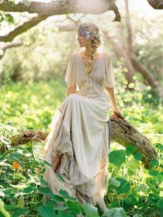 Beautiful boho wedding dresses: Samuelle Couture