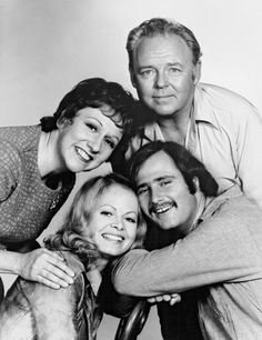 """ALL IN THE FAMILY"" ~ the TV Bunkers ~ Edith, Archie, Gloria & Michael (Meathead)"