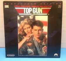 Top Gun (Laserdisc) - Widescreen Edition - THX, Tom Cruise, Kelly Megillis Vgc
