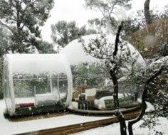 Attrap Rves, a bubble hotel in the countryside east of Marseille, France invites guests to stay in transparent pods set in nature. The bubbles were conceived by French designer Pierre Stphane, who wanted to give campers an eco-friendly space so they could explore without leaving a negative impact.