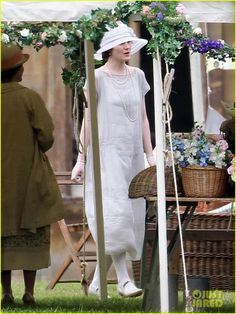 Downton Abbey Season 4: Lady Mary Garden Party