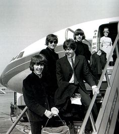 We All Live In A Yellow Submarine With The Beatles — doraemonmon:   The Beatles - Air France