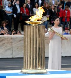 The London 2012 Olympic Torch Relay