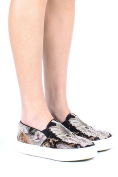 Jeffrey Campbell Shoes SARLO Shop All in Cat Tapestry