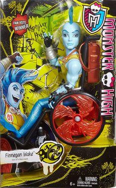 Monster High Monster Exchange Program Fan Vote Doll: Finnegan Wake
