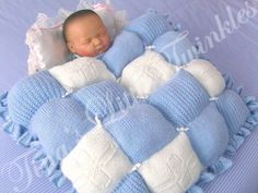 Knitting Patterns For Dolls Bedding : 1000+ images about Baby Blankets - Knit on Pinterest Baby blankets, Knitted...