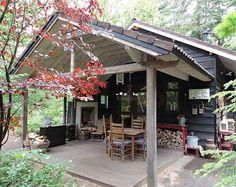 Leuk boshuis voor 4pers op de Veluwe. Luxe vakantiehuis met de uitstraling van een noeste hut!