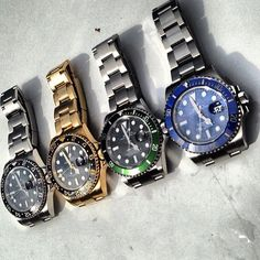 "Rolex - The ""Bad Boys"""