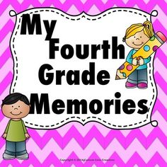 My Fourth Grade Memory Book is a great product to help your students remember their fantastic 4th grade year that they had with you! This product has many different backgrounds and pages that will give your students a variety of ways to document their year.Includes Pages*Photo page for student *Photo page for class*Photo page for my family*Photo page for best friend*Photo page for teacher*Photo page for student last day *I love my teacher*I love my best friend*I love my class*I love my…