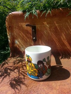 Villeroy and Boch coffee mug made for Van Nelle by fcollectables, €8.50