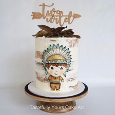 Indian Chief Cake