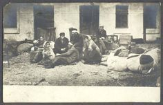 Jewish Pogrom Odessa 1905 (note chair shapes in left hand corner)