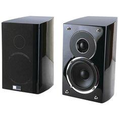 "pure acoustics Noble-IIS 4"" 2-Way Noble II Gloss Black Bookshelf Speakers"