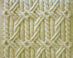 Crochet scarf easy pattern yarns ideas for 2019 Crochet Mittens Pattern, Crochet Scarf Easy, Cable Knitting Patterns, Knitting Charts, Knitting Stitches, Crochet Patterns, Crochet Hats, Pulls, Lana