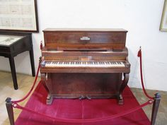 Chopin's Pleyel piano.