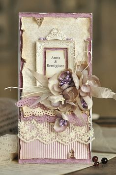 Here is a wedding card in beige and purple, made from the My Precious Daughter collection.Thanks so much for stopping by!EwaPion products:My Precious Daughter - Julia's dress PD4908 frontMy Precious Daughter- Julia's dress PD4908  backMy Precious Daughter - Syringa PD 4909 back
