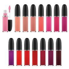 Batom líquido Retro Matte Liquid Lipcolour, da M.A.C. Cosmetics  Textura clássica ganha 15 cores novas. R$ 86,00. Informações: 08008921695 Divulgação