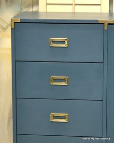 Aubusson Blue and Brass