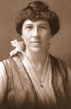 Lila Meade Valentine, who led the ESL in its statewide campaign for 11 years, died without ever voting. Photo courtesy special collections and archives, VCU James Branch  Cabell Library - from The Genteel Crusaders - Richmond's suffragists and the struggle for women's right to vote.  By HARRY KOLLATZ JR.