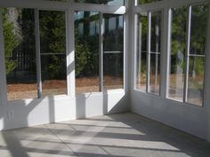 Update screened patio with glass - #sunrooms http://www.brunswickplantation.com