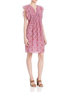 Rebecca Taylor - Shibori Silk Dress