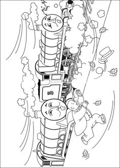 Coloring page Thomas the Train Thomas the Train on Kids-n-Fun.co.uk. On Kids-n-Fun you will always find the best coloring pages first!